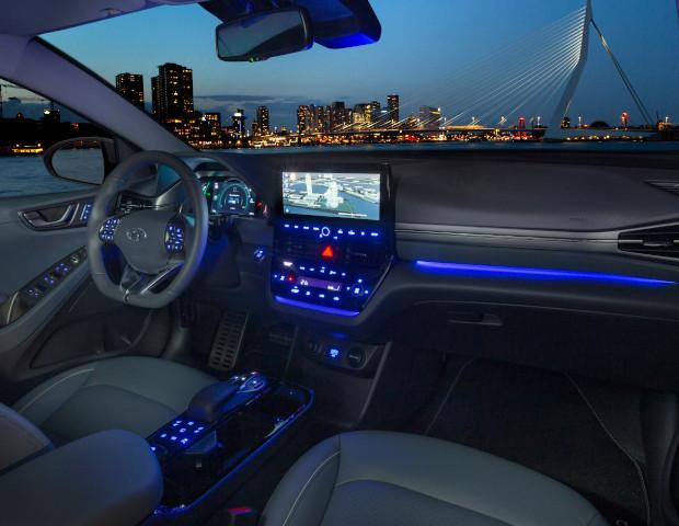 Hyundai iONIQ dashboard | Autobedrijf Noteboom