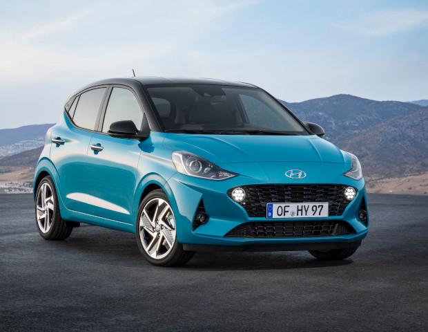 Hyundai i10 blauw | Autobedrijf Noteboom