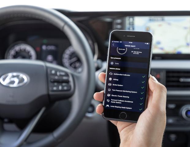 Hyundai i10 Smartphone app | Autobedrijf Noteboom