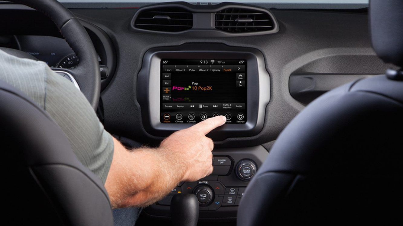 Touchscreen in the 2020 Renegade