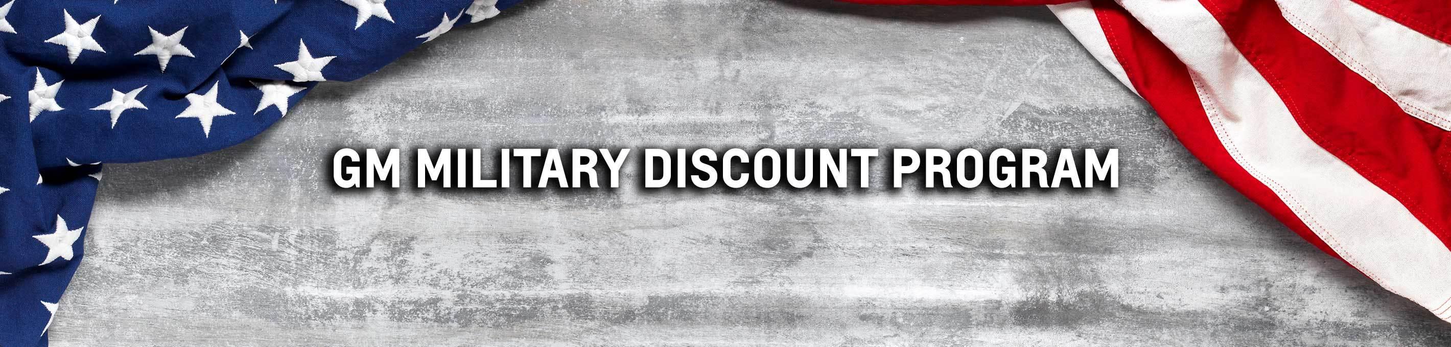 Pohanka Chevrolet GM Military Discount Program