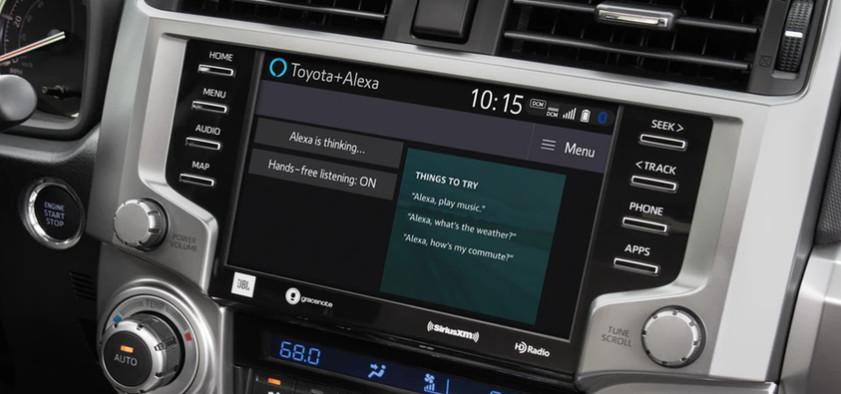 2020 Toyota RAV4 Amazon Alexa Compatibility