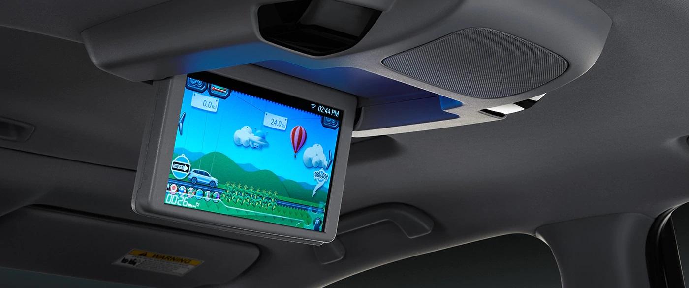 Rear Entertainment System in the 2020 Honda Pilot