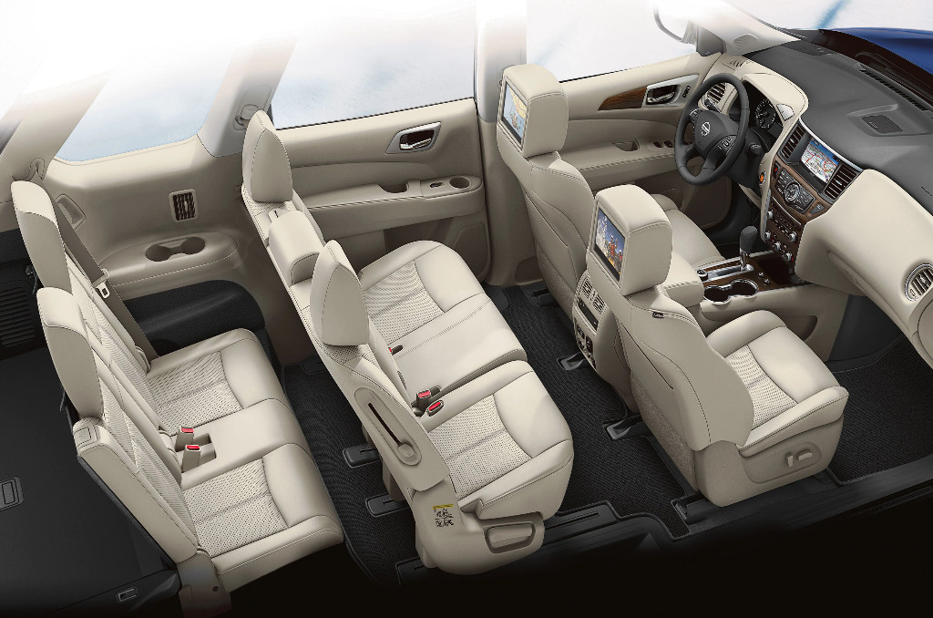 Seating in the 2020 Pathfinder