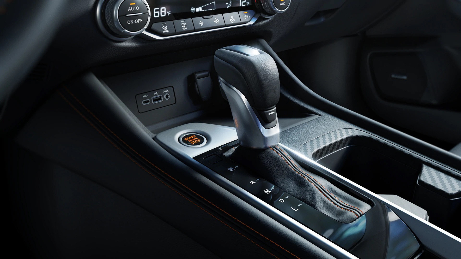 2020 Nissan Sentra Center Console