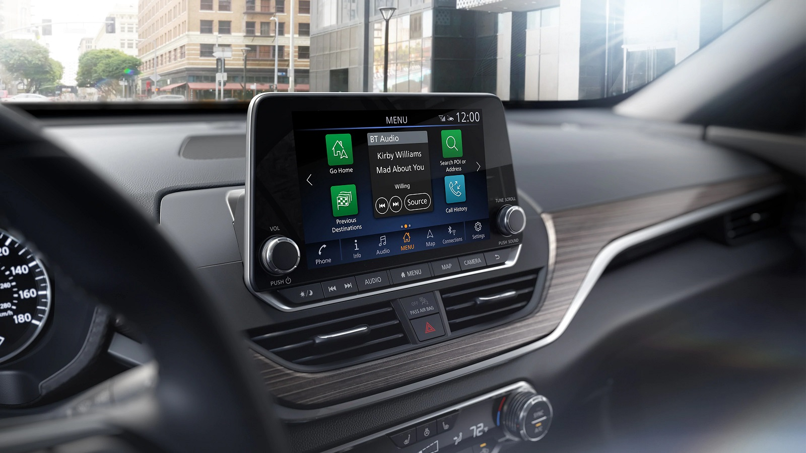 2020 Nissan Altima Dashboard