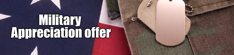 Pohanka Acura Military Appreciation Offer