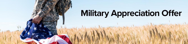Pohanka Hyundai of Fredericksburg Military Appreciation Offer