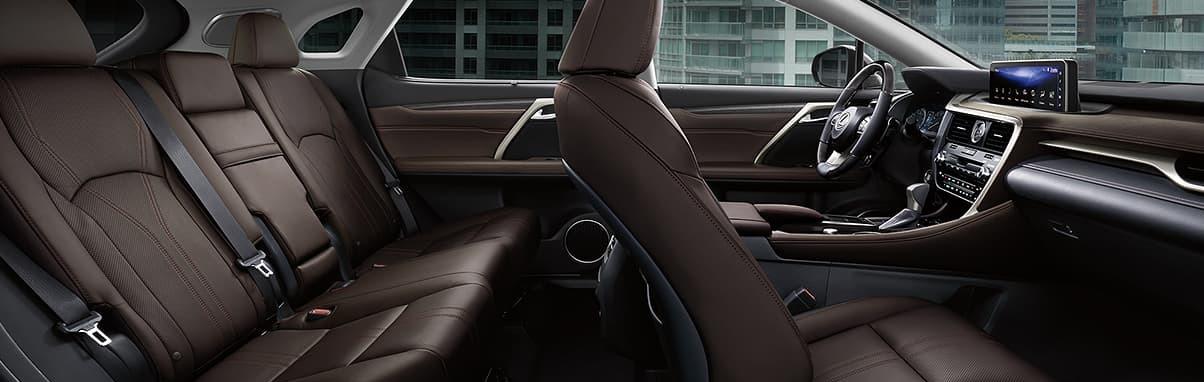 2020 Lexus RS 350 Cabin