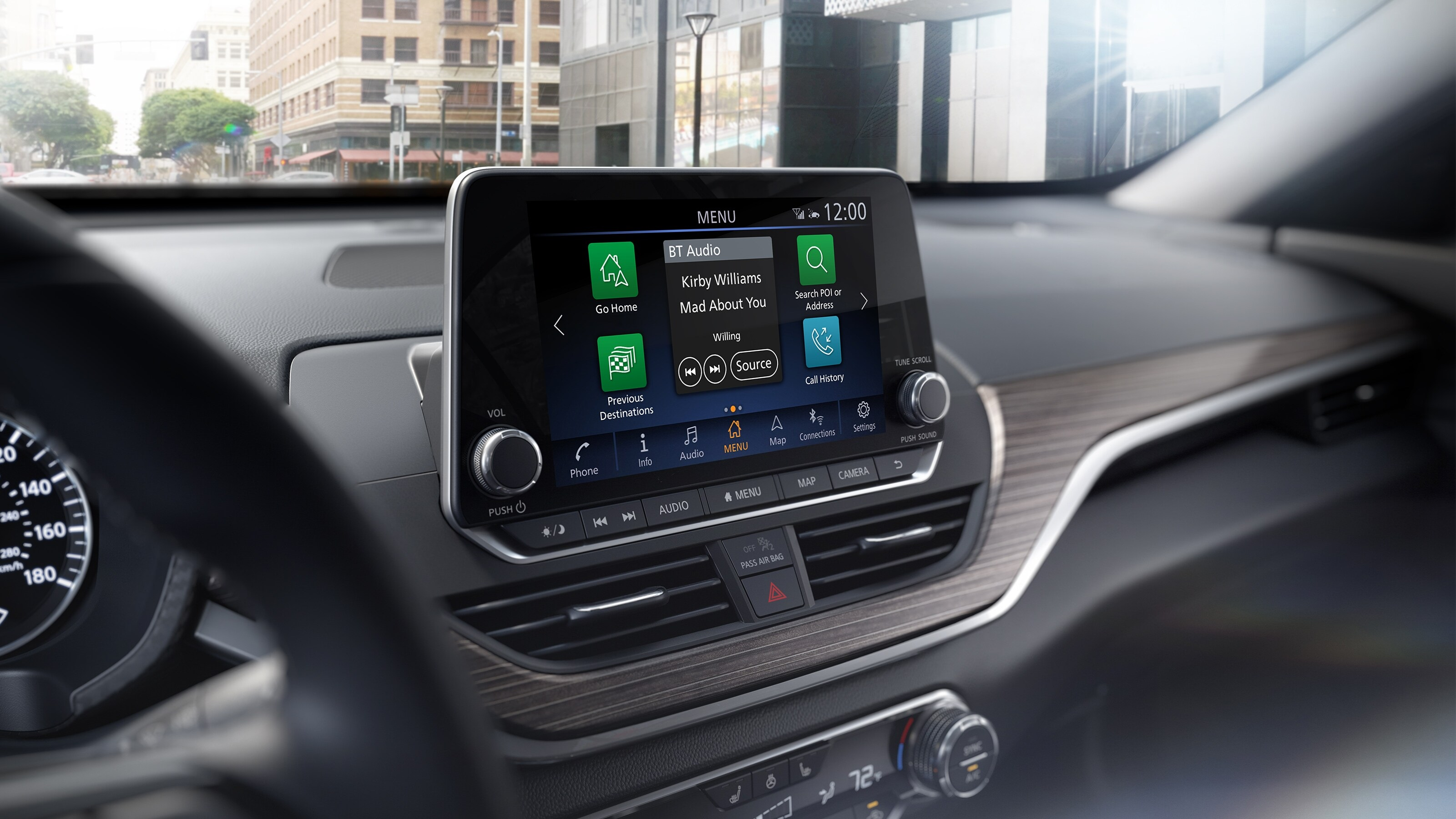 2020 Nissan Altima Touchscreen Display