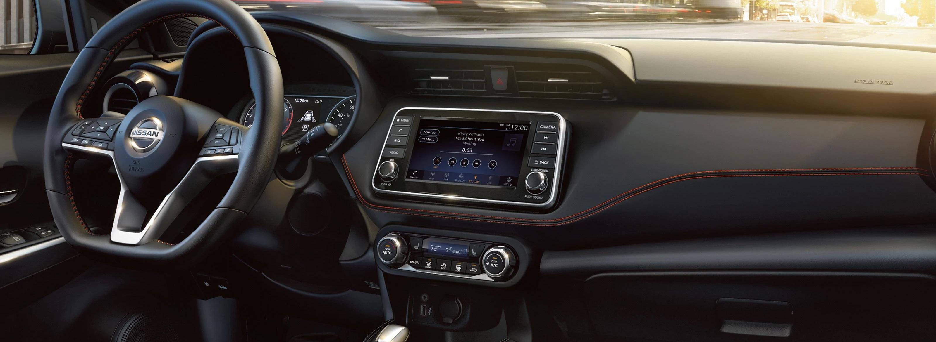 2020 Nissan Kicks Dashboard
