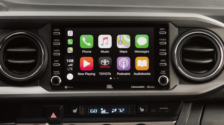 Apple CarPlay® in the 2020 Tacoma