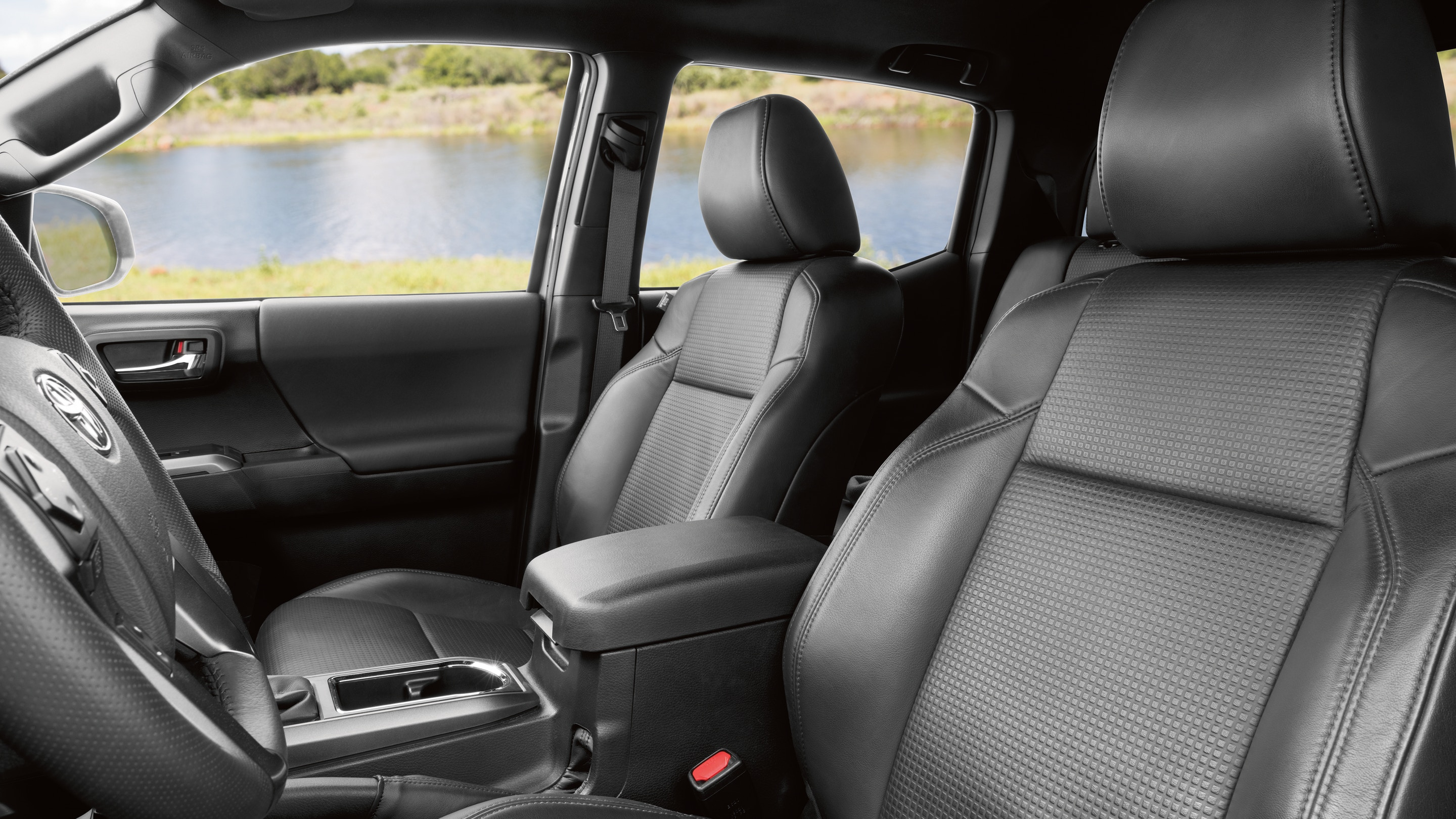 Cozy Front Seats of the 2020 Toyota Tacoma