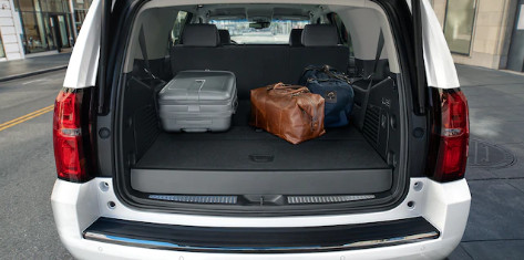 Cargo Space in the 2020 Chevrolet Tahoe