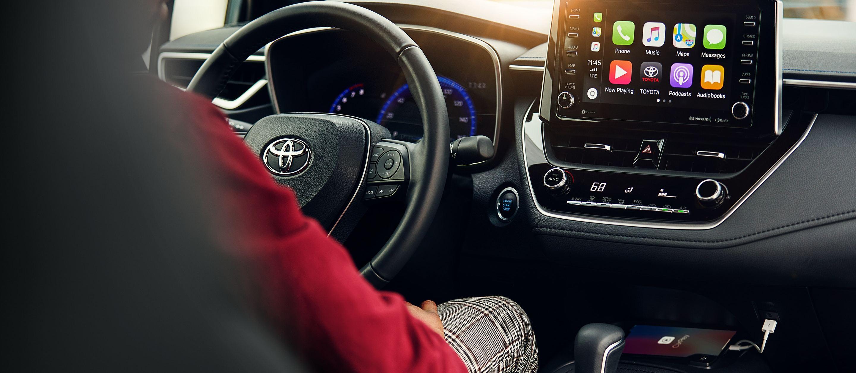 The Tech-Centric Interior of the 2020 Corolla