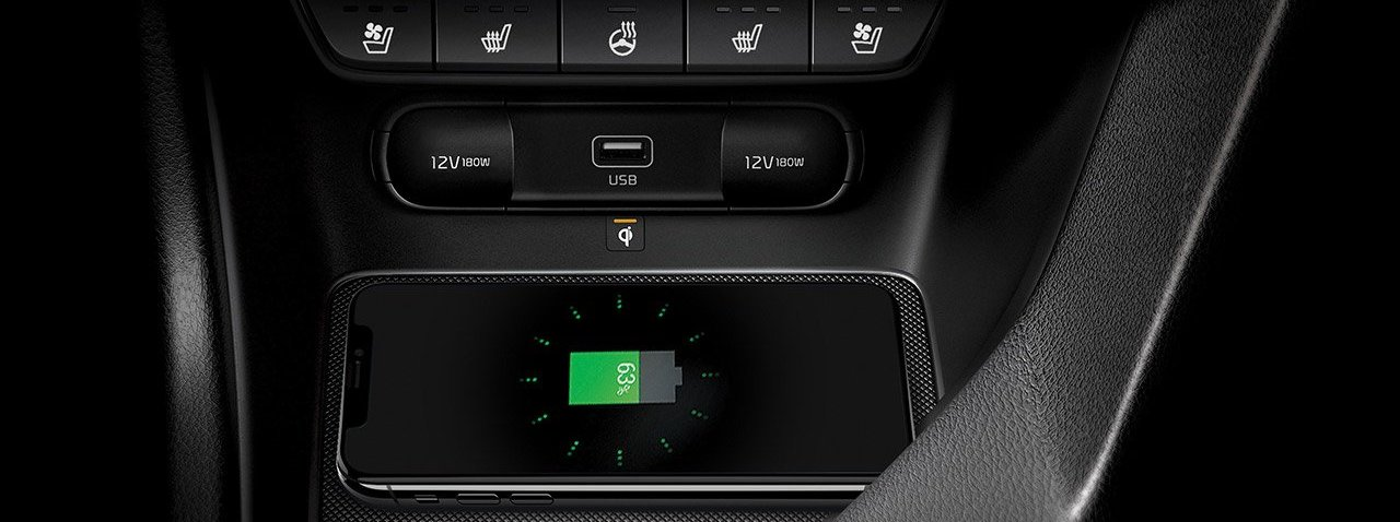 2020 Kia Sportage Wireless Charger