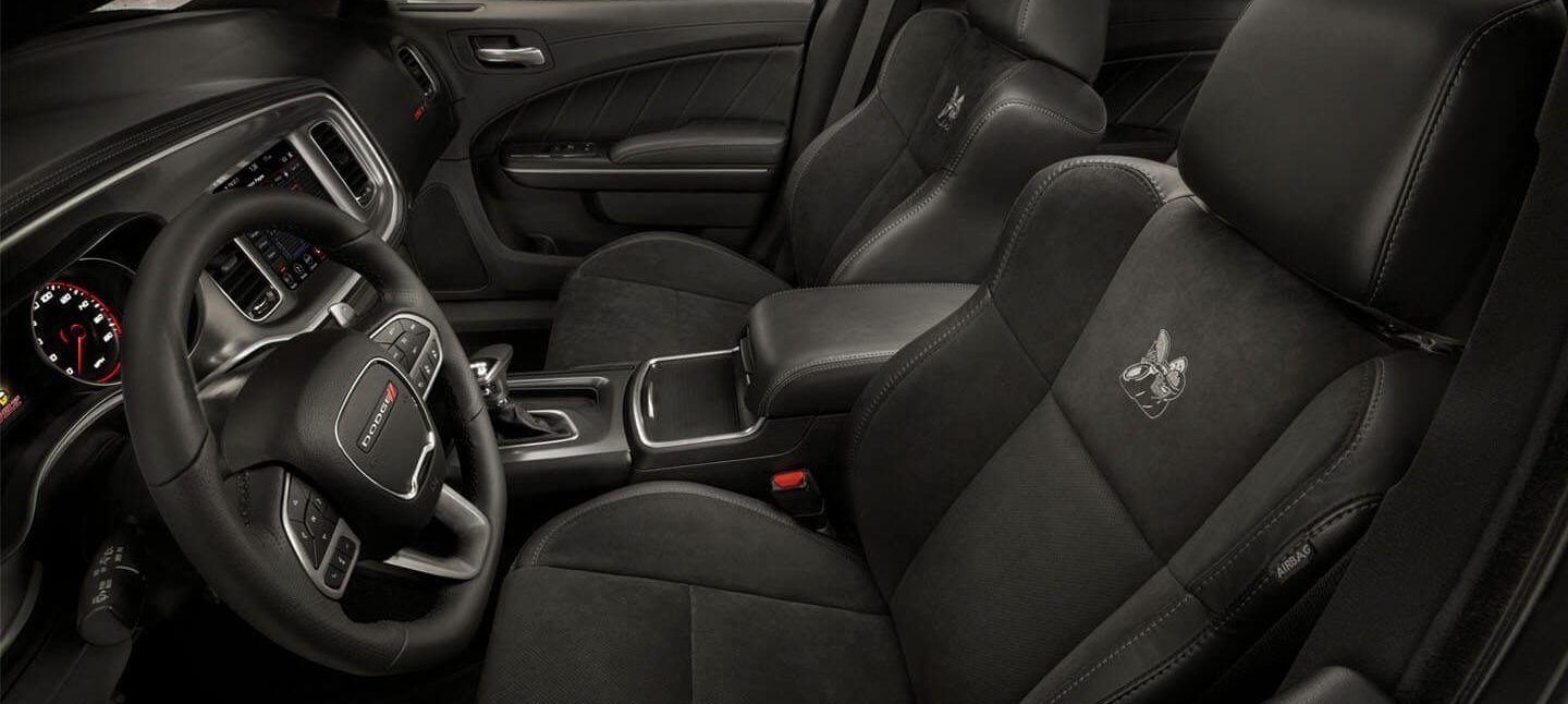 2020 Dodge Charger Available Nappa Leather-Trimmed Performance Seats