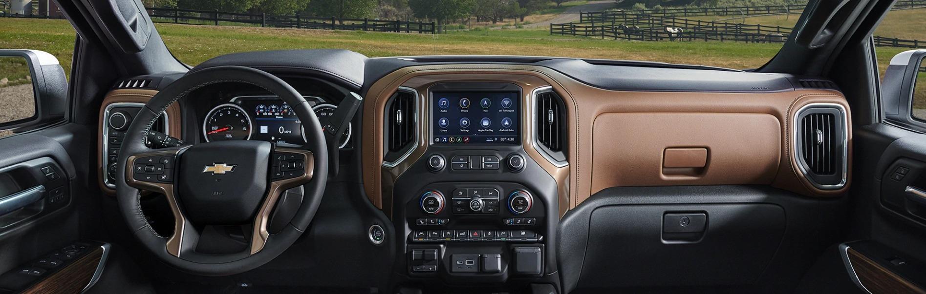 2020 Chevrolet Silverado 1500 Dashboard