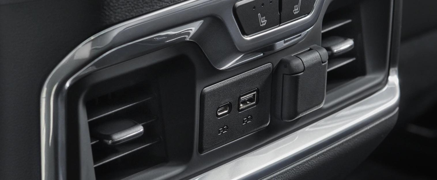 2020 Chevrolet Silverado 1500 Climate Control