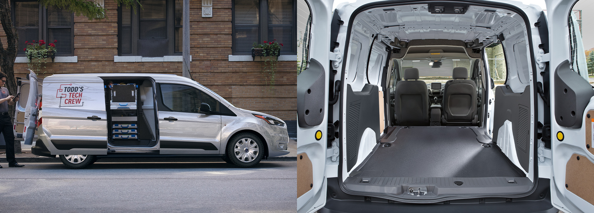 2020 Ford Transit Connect interior