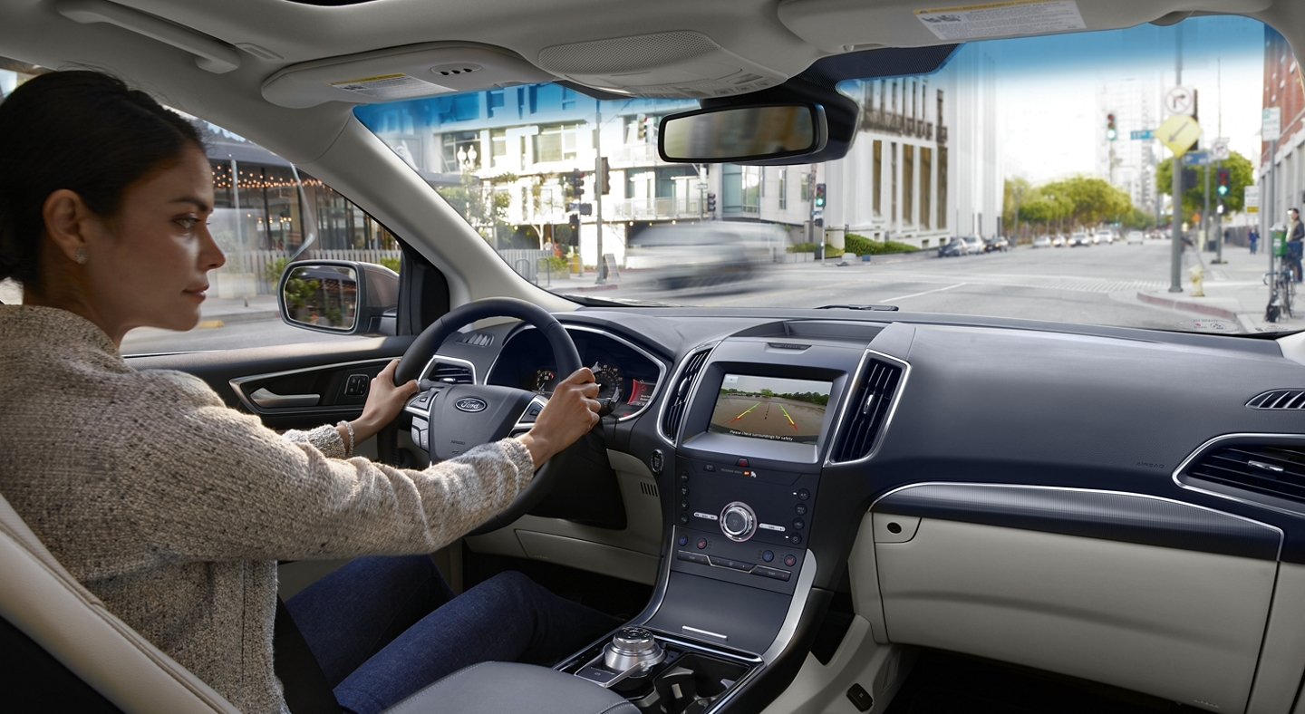 Interior of the 2020 Ford Edge