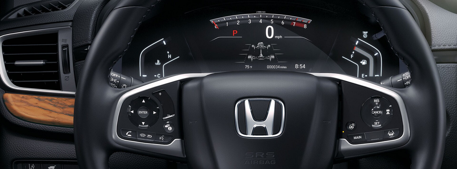 Instrument Panel in the 2020 CR-V