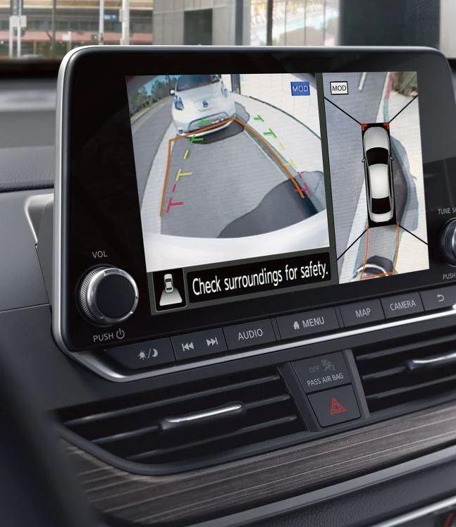 2020 Nissan Altima Touchscreen Display