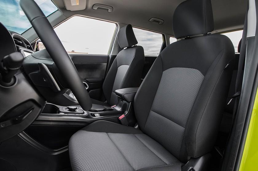 2021 Soul EV Interior