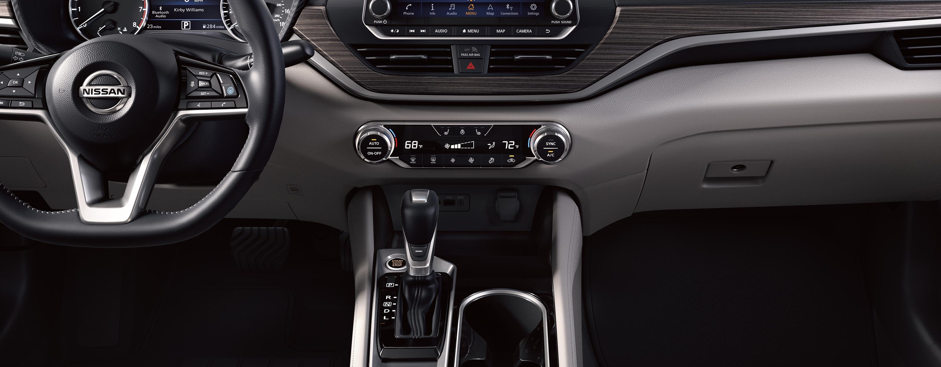 2020 Nissan Altima Cabin Features