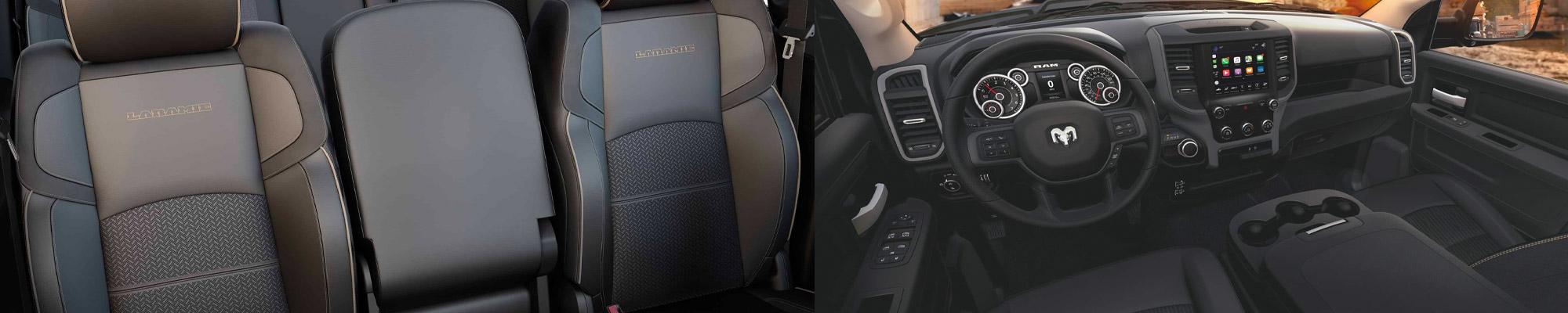 2020 Ram 3500 interior