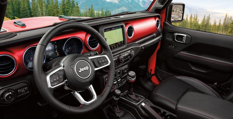 2020 Jeep Wrangler Unlimited Interior