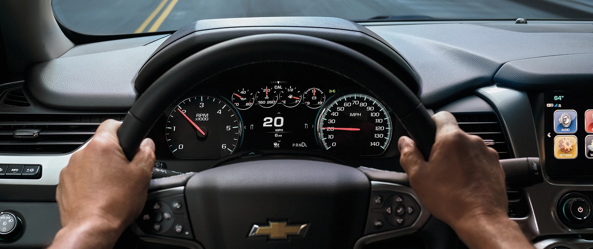 2020 Chevrolet Tahoe Dashboard