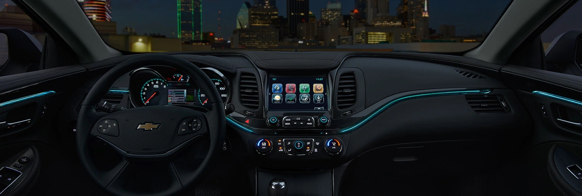 2020 Chevrolet Impala Dashboard