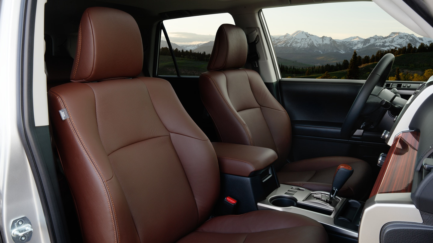 Seating in the 2020 4Runner