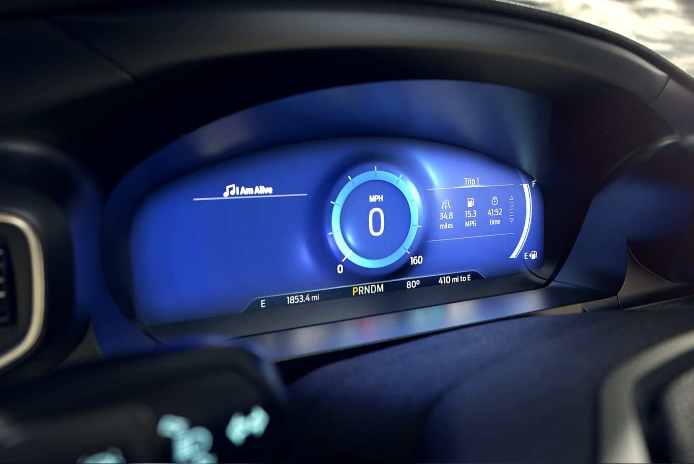 2020 Ford Explorer Information Gauge