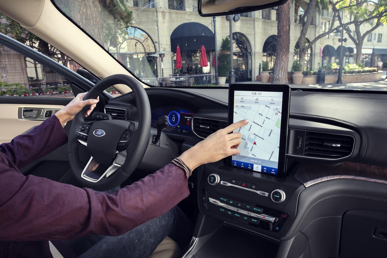 2020 Ford Explorer Dashboard