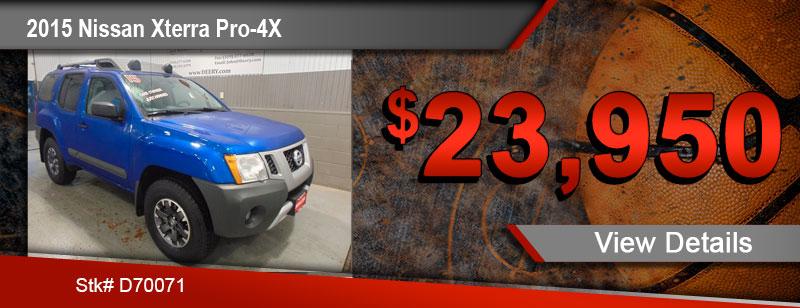 2015 Nissan Xterra Pro4x