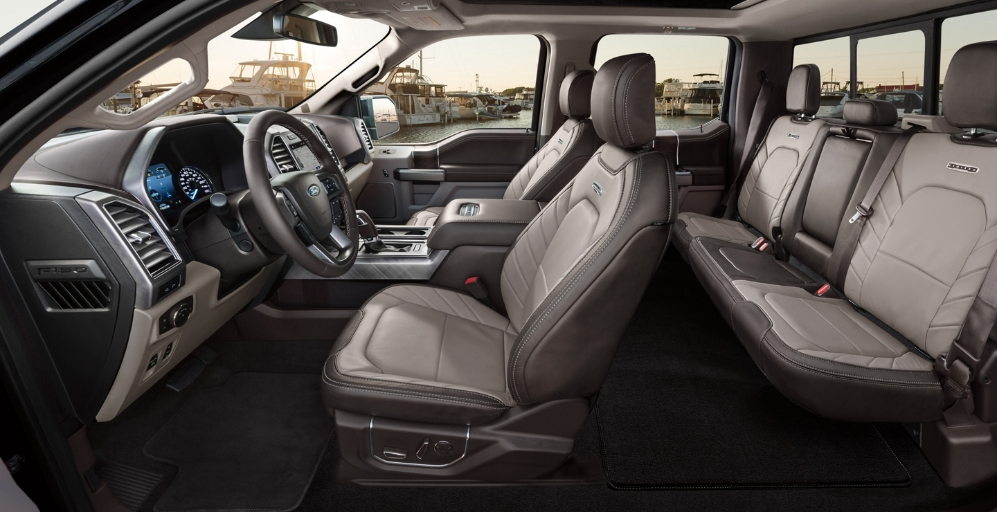 2020 Ford F-150 Available Limited Interior