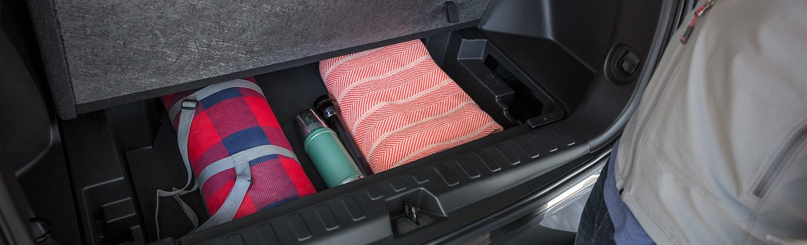 Storage in the 2020 Equinox
