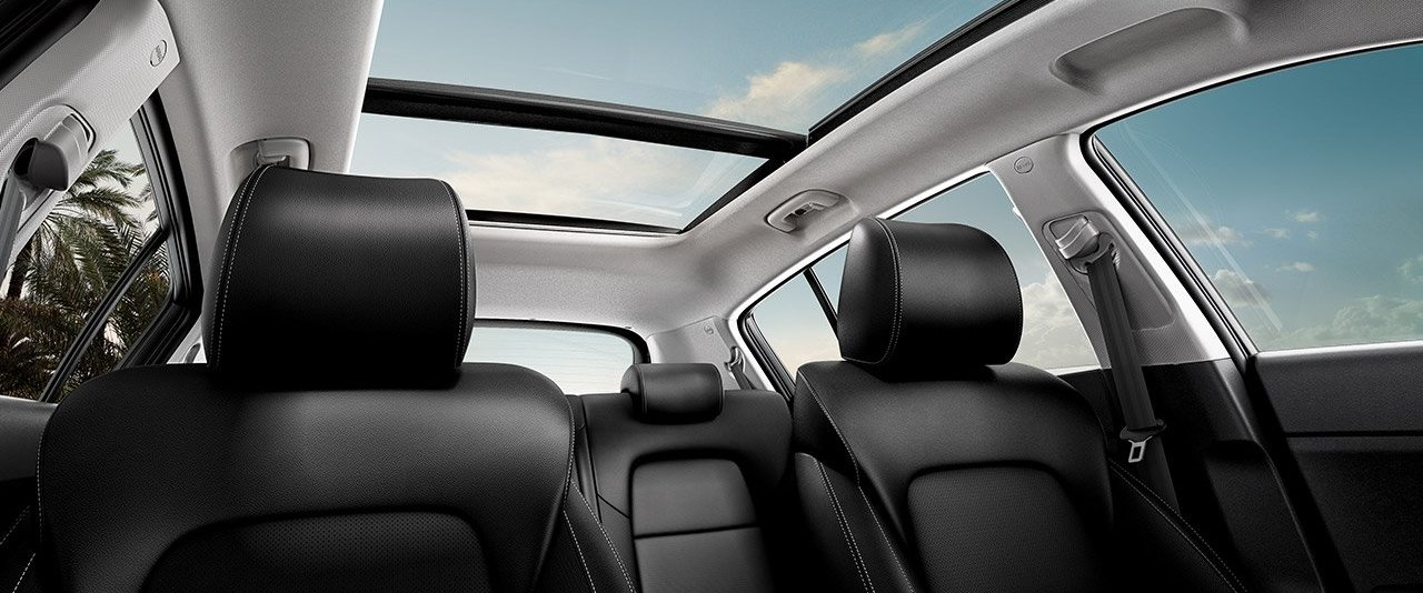 The Secure Cabin of the 2020 Sportage