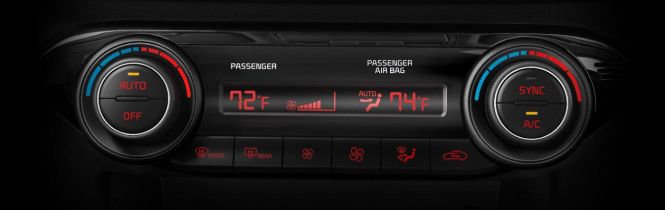 2020 Kia Forte Dual-Zone Climate Control