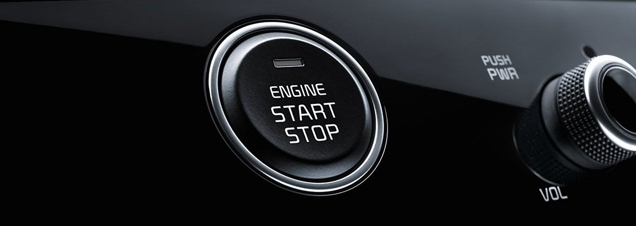 Unleash the 2020 Sportage with Push Button Start!