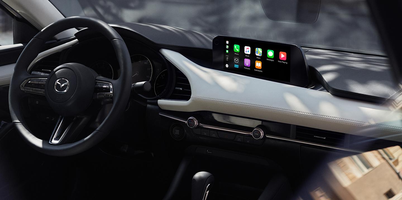 Interior of the 2020 MAZDA3 Sedan