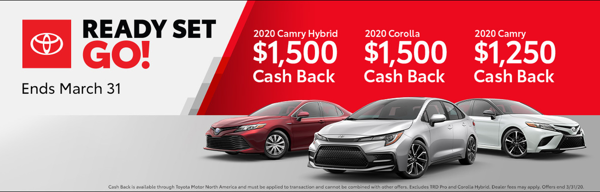Red Set Go! Sales Event at Piercey Toyota in Milpitas