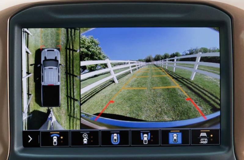 2020 Chevrolet Silverado 2500HD Available 15 Camera Views