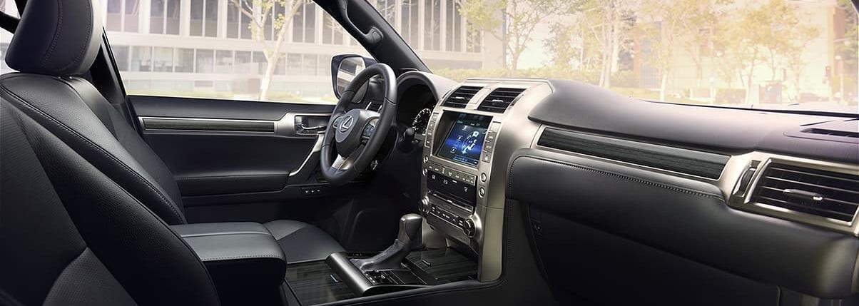 Spacious Interior of the 2020 Lexus GX 460