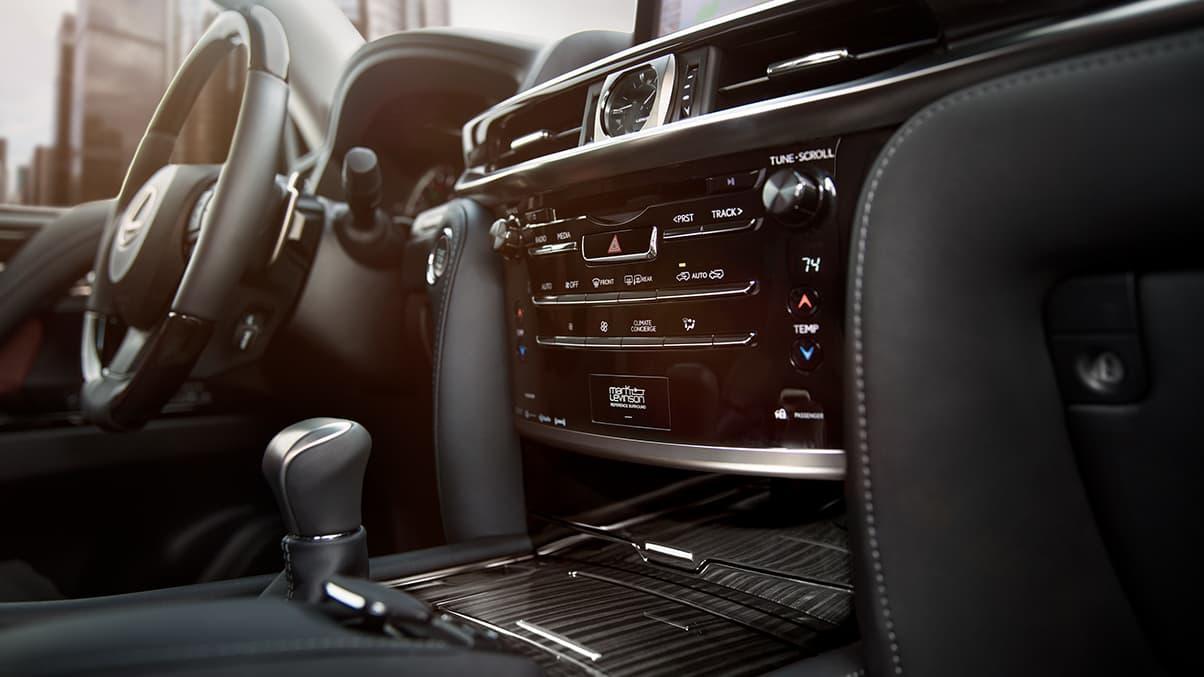 Upscale Amenities in the 2020 Lexus LX 570