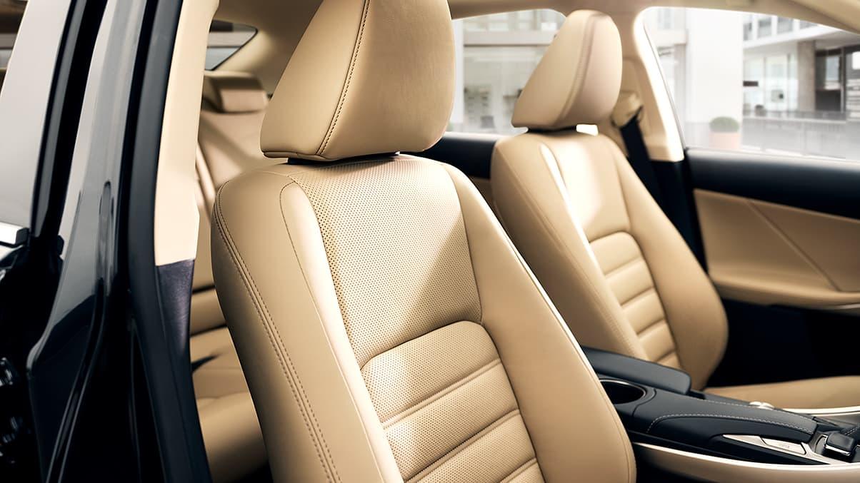 Premier Seating in the 2020 Lexus IS 300