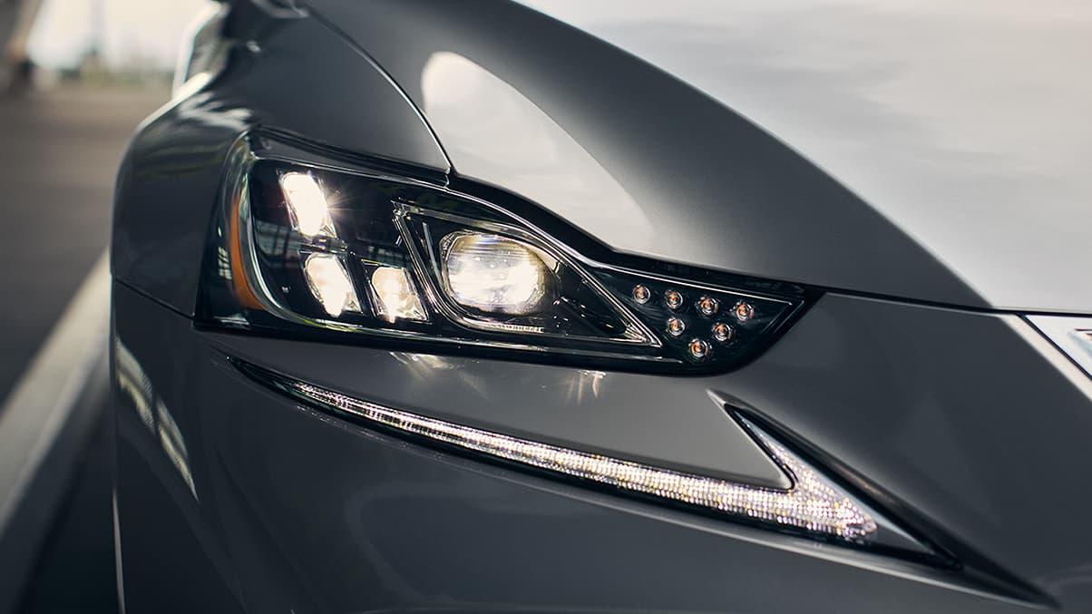2020 IS 300 Triple-Beam Headlights