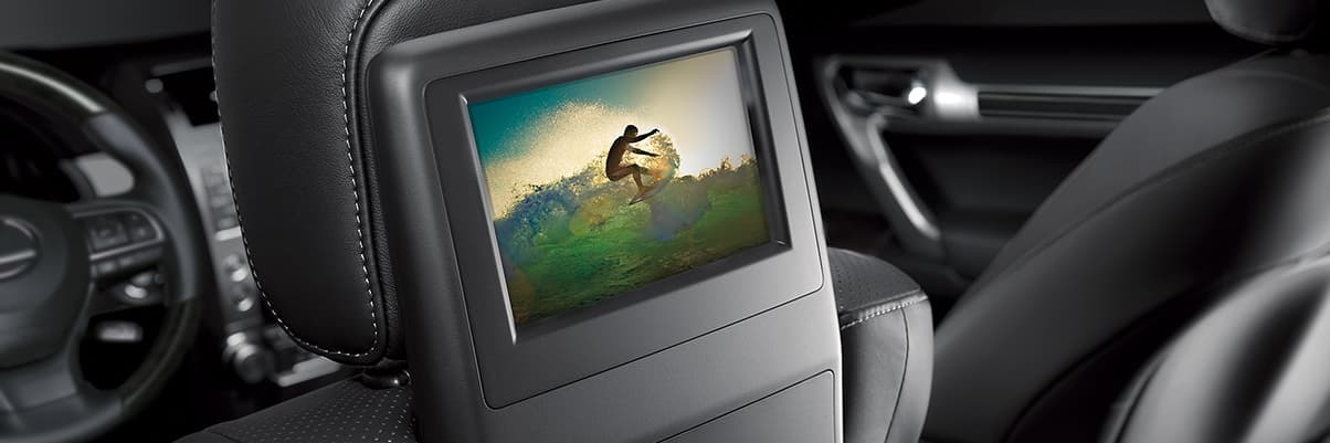 2020 GX 460 Rear-Seat Entertainment System